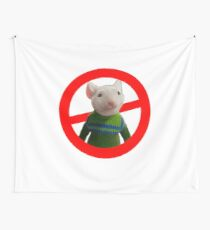 We Hate Stuart Little  Wall Tapestry