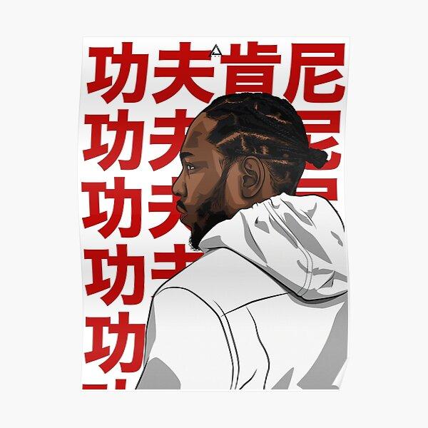 KENDRICK LAMAR (KUNG FU KENNY) Poster