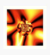 Quadrium Prime -- Reflective Lensing Art Print