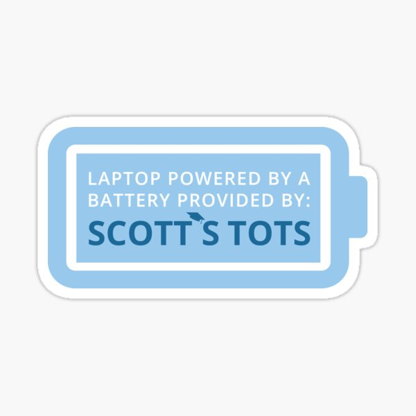 Scott's Tots | The Office Sticker