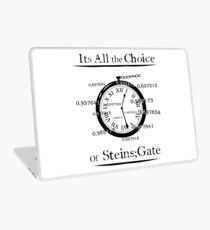the choice of steins gate  Laptop Skin