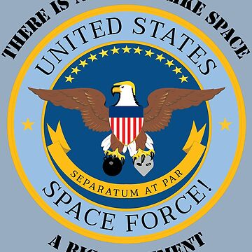 United States Space Force! Military Service Mark by MetzgerAndSons