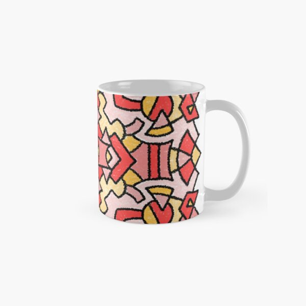 Crayon Medallion 1806 Fiona Classic Mug