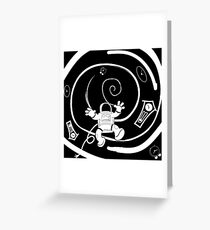 Lost in time Greeting Card