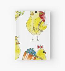 Easter Chicks & Eggshell Baskets Hardcover Journal
