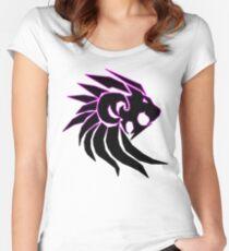 JG Lion 4 Women's Fitted Scoop T-Shirt
