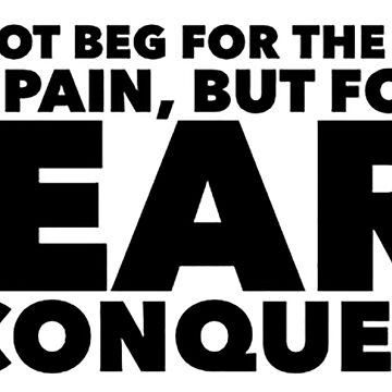 Tabindranath Tagore quote - conquering pain by savantdesigns