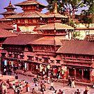 Durbar Square, Kathmandu, Nepal, 1980 by John Spies