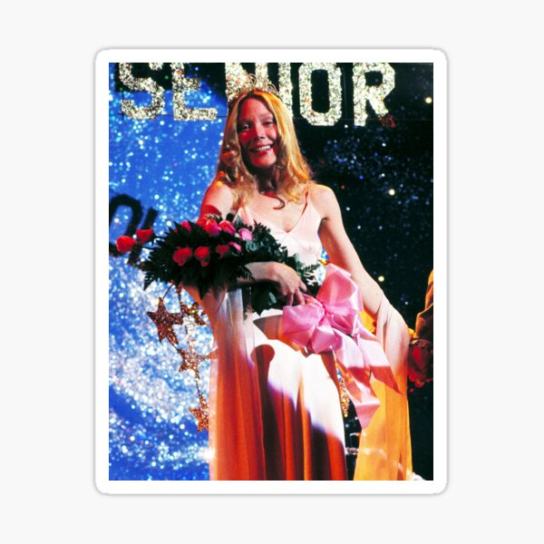Carrie at the Prom Sticker