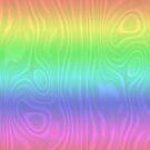 Groovy Pastel Rainbow by Gravityx9