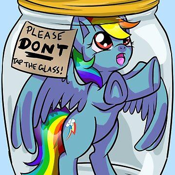 Pony in a Jar: RainbowDash by DawnAllies