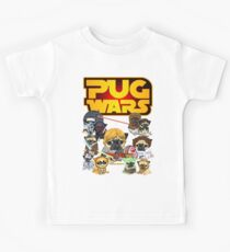 Pug-Kriege Kinder T-Shirt