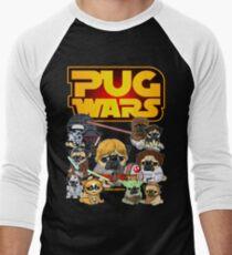 PUG WARS Men's Baseball ¾ T-Shirt