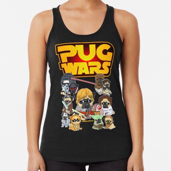 PUG WARS Racerback Tank Top