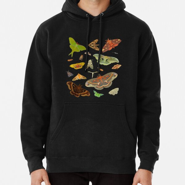 Moth Party Pullover Hoodie