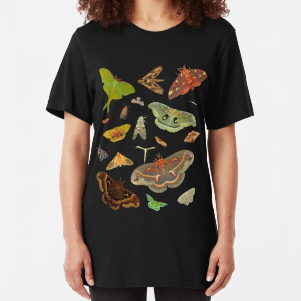 Moth Party Slim Fit T-Shirt