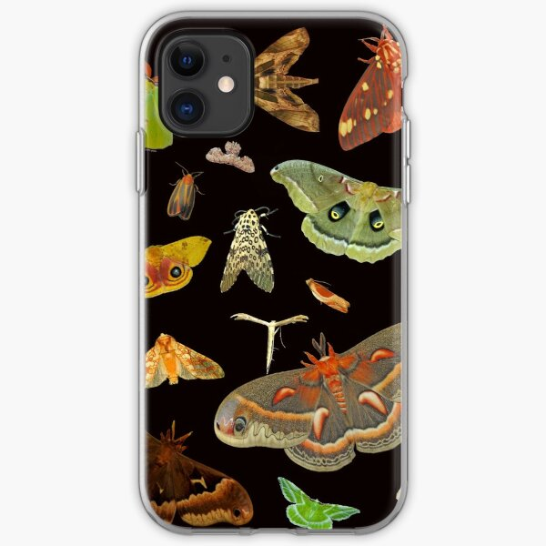 Moth Party iPhone Soft Case