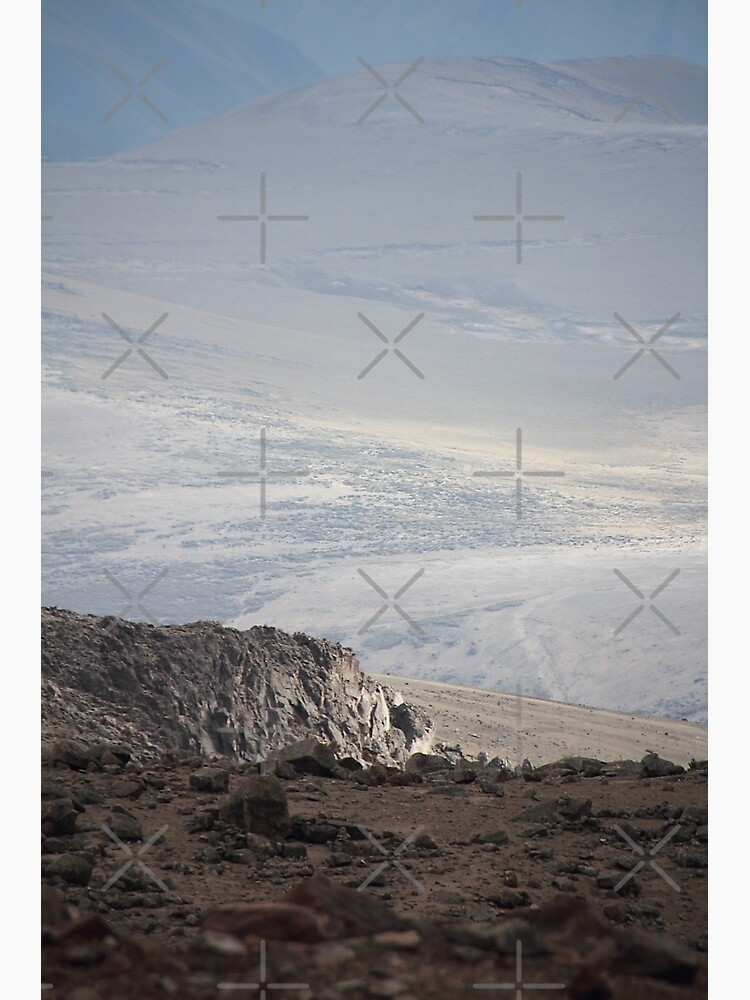 Mount Chimborazo valley landscape by kpander