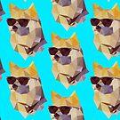 Polygonal Doge by Michael Fortman