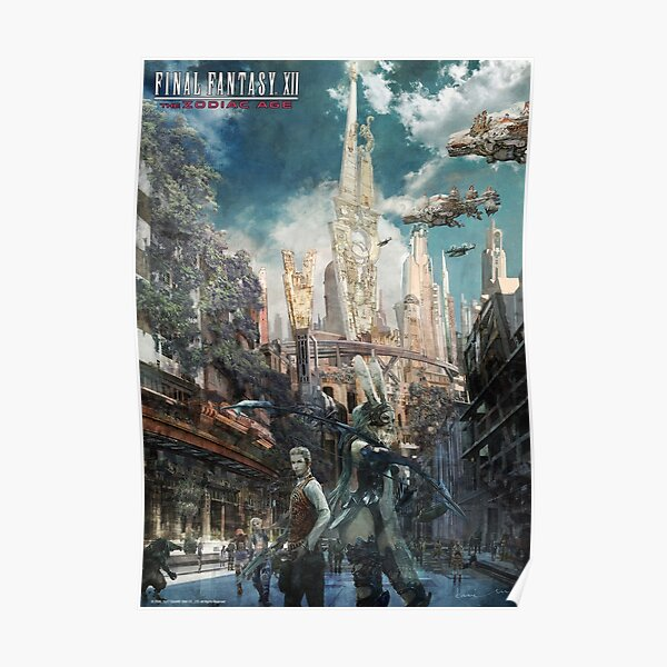 Final Fantasy XII Concept Art Poster