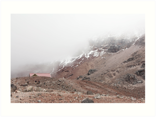 Hiking to Refugio Whymper, Mount Chimborazo, Ecuador by Kendall Anderson