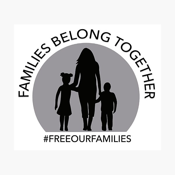 Families Belong Together RAICES Benefit Photographic Print