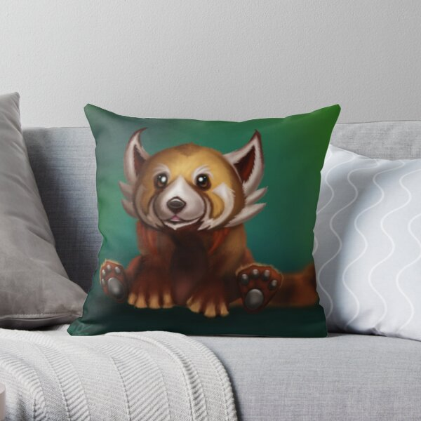 Sunfur Panda Throw Pillow