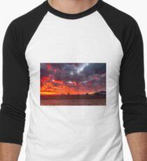 Stirling Ranges Sunrise Men's Baseball ¾ T-Shirt