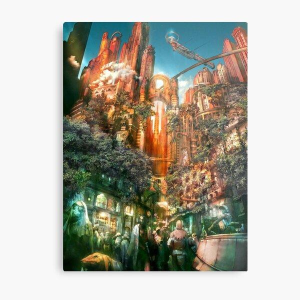 Final Fantasy XII Concept Art Designs Metal Print