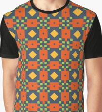 lines triangle colors modern structure seamless colorful repeat pattern Graphic T-Shirt