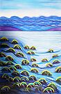 Pastels - Incoming Tide by Georgie Sharp