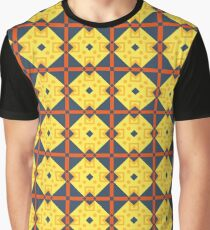 geometry structure colorful screen saver seamless repeat pattern Graphic T-Shirt
