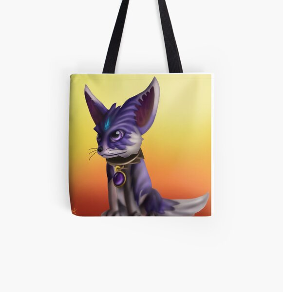 Shadow All Over Print Tote Bag