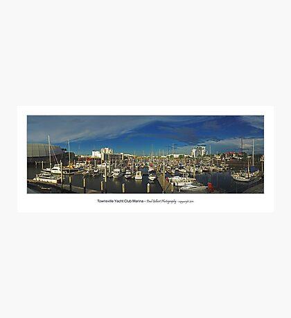 Townsville Yacht Club Marina Photographic Print