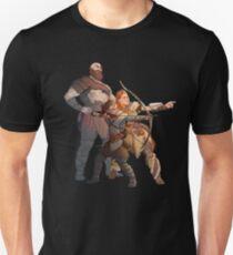 Camiseta ajustada God Of War Horizon Zero Dawn