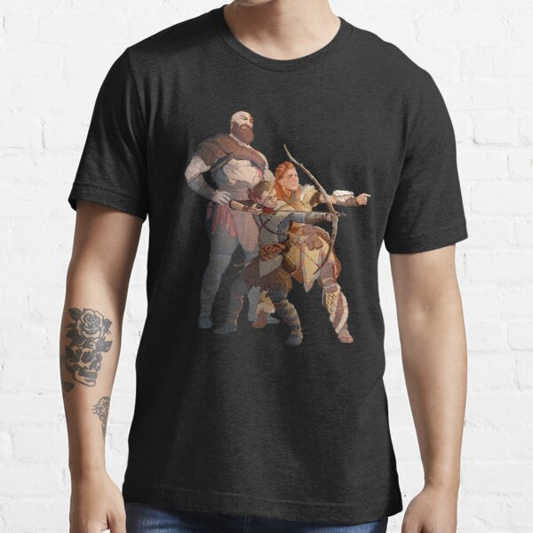 God Of War Horizon Zero Dawn Essential T-Shirt