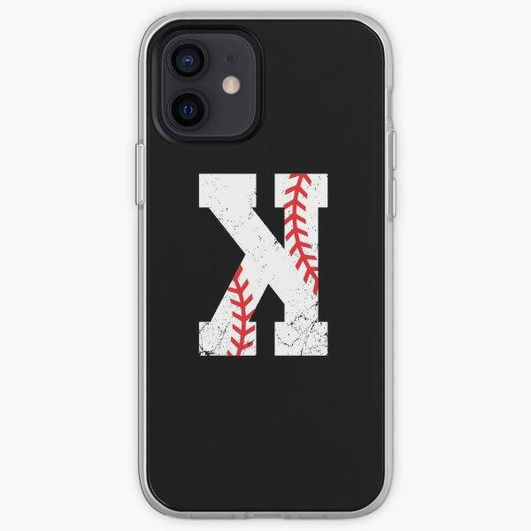 Baseball Pitcher Strikeout K iPhone Soft Case