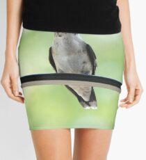 Ruby Throated Hummingbird Mini Skirt