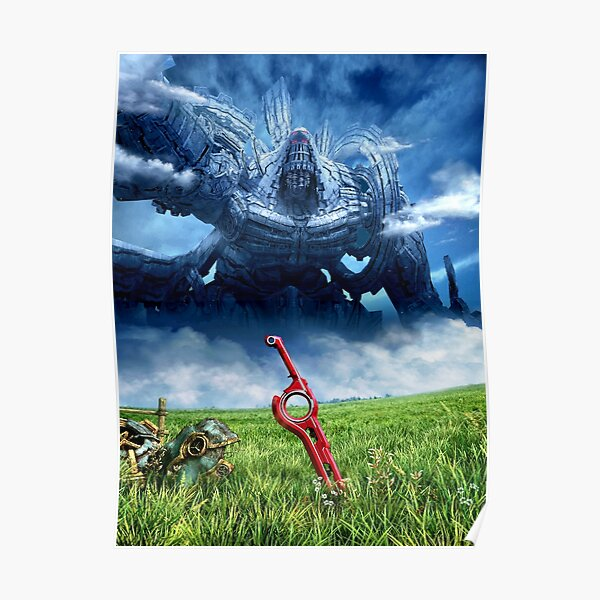 Xenoblade Chronicles Artwork Design Poster