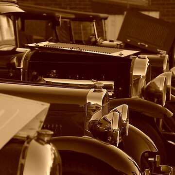 vintage cars by BigAndRed