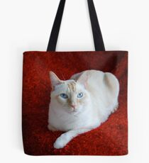 Montecore on Red Tote Bag
