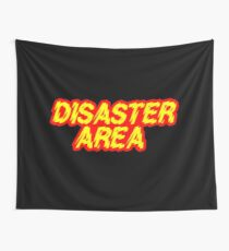 Disaster Area - Generally regarded as not only the loudest rock band in the Galaxy, but also as being the loudest noise of any kind at all. Wall Tapestry