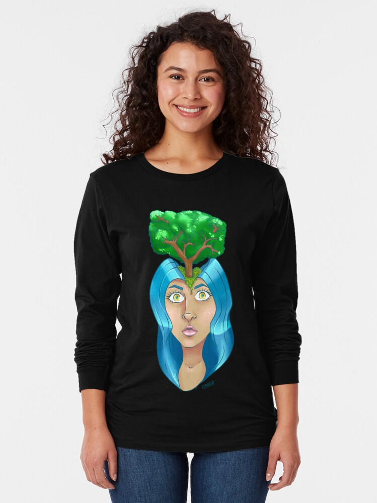 Alternate view of Treehead Long Sleeve T-Shirt
