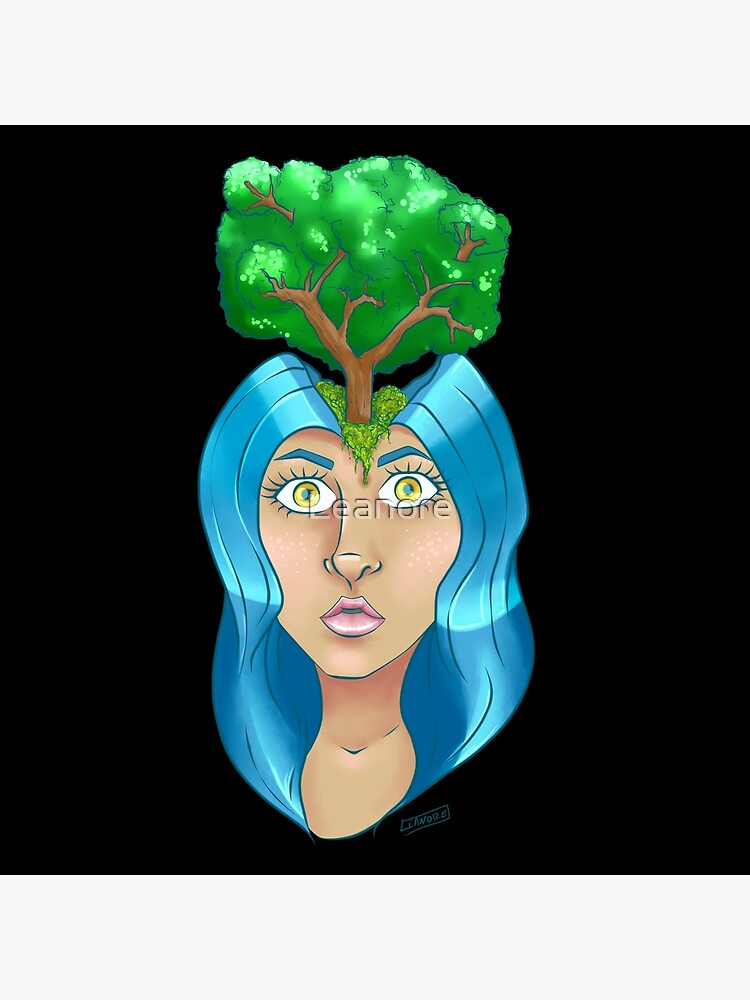 Treehead by Leanore