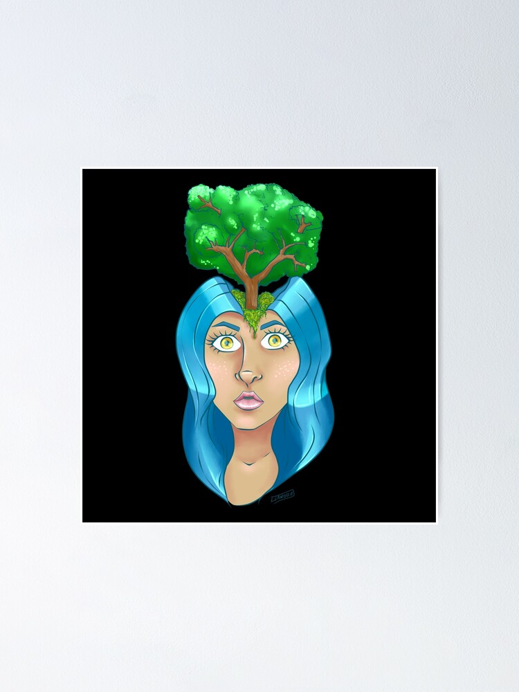 Alternate view of Treehead Poster