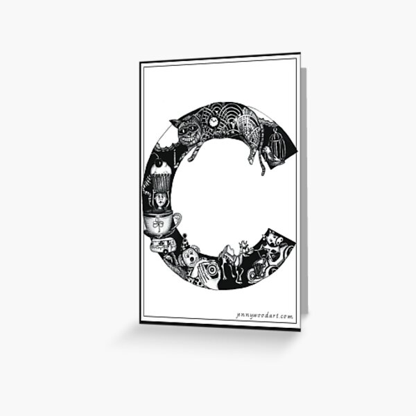 'c' is for... Greeting Card