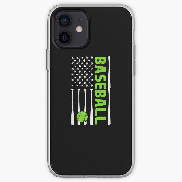 Baseball Flag iPhone Soft Case