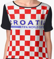 Croatia on FIFA World Cup 2018 jerseyide Chiffon Top