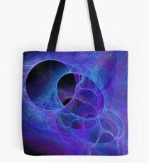 Bloop Abstract Fractal Artwork Tote Bag
