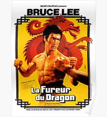 Way of the Dragon French Poster Poster